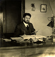 Philip in his office at Dearborn